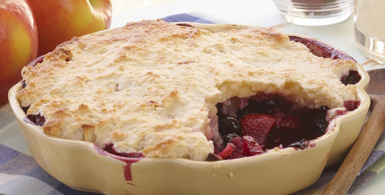 Voir la recette - Torte aux fruits d'été