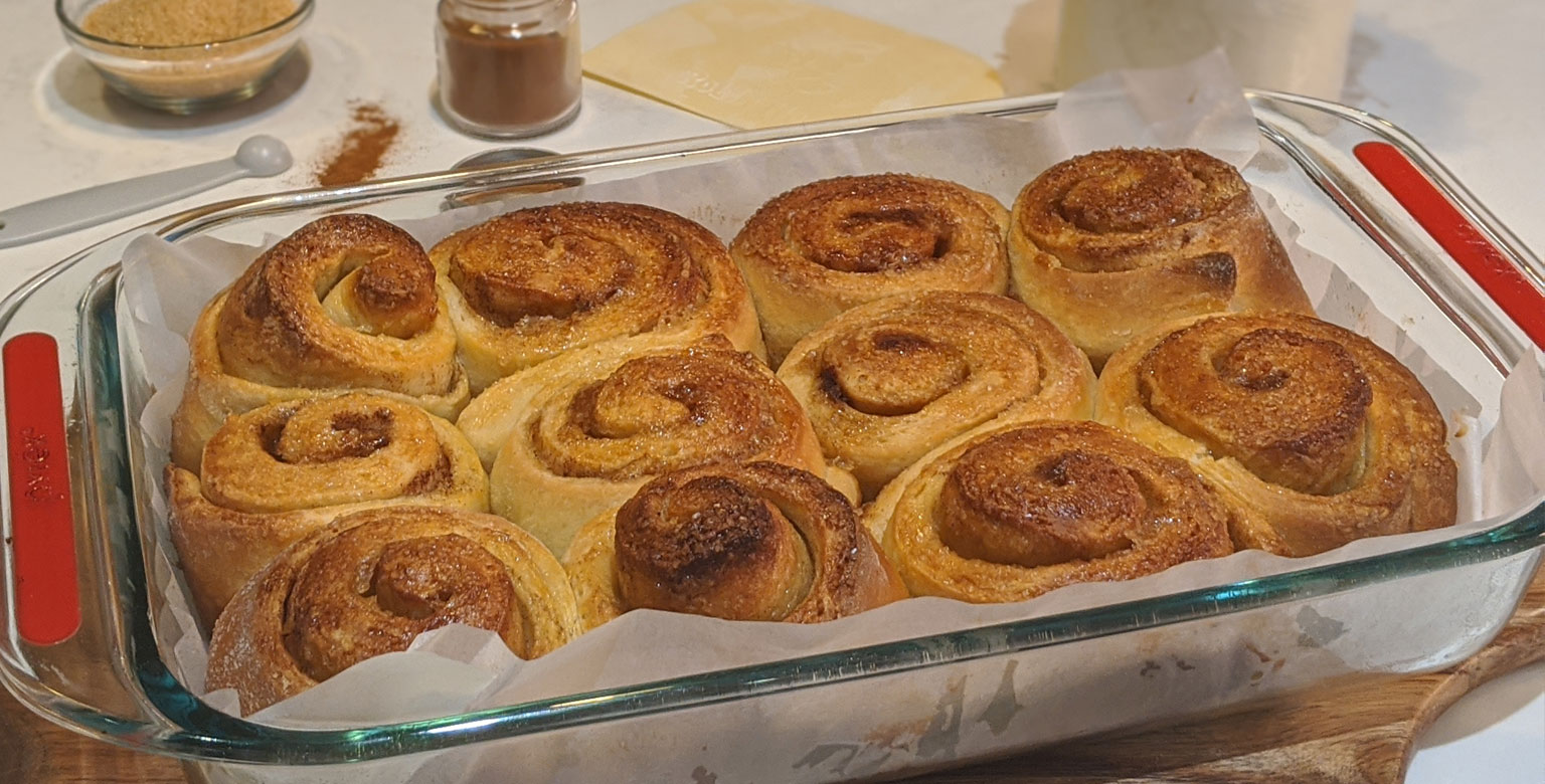 Sherwood<sup>TM</sup> Sourdough Cinnamon Rolls
